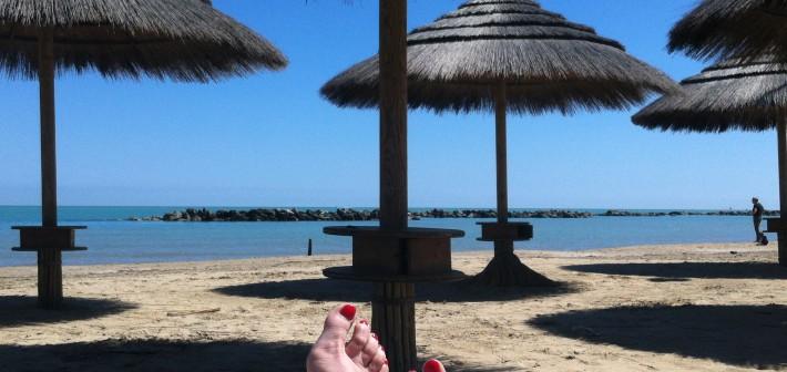Sulla spiaggia…..