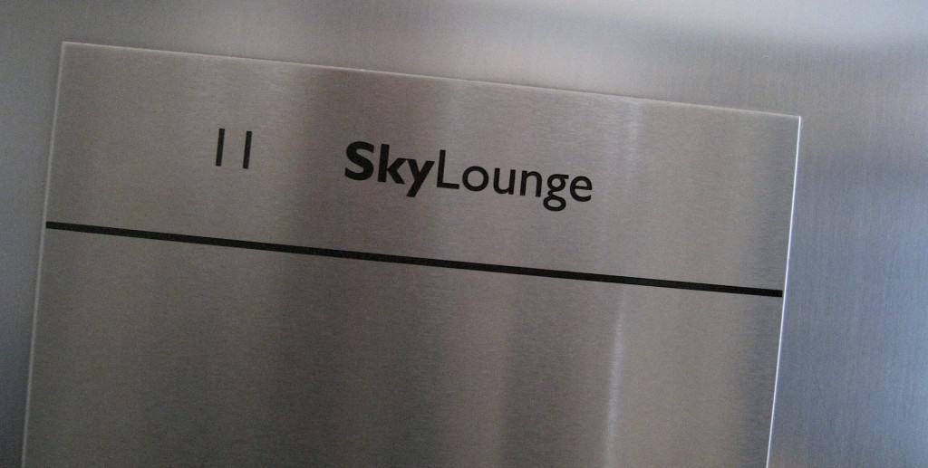 Amsterdam Skylounge lift