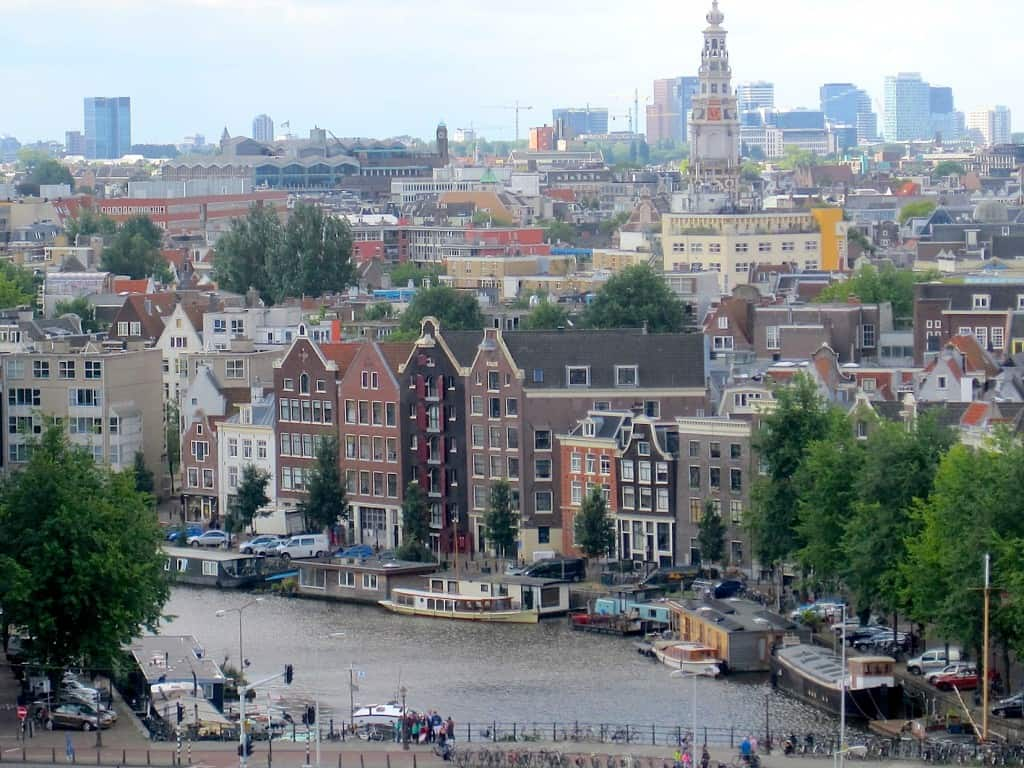 Amsterdam Skylounge uitzicht