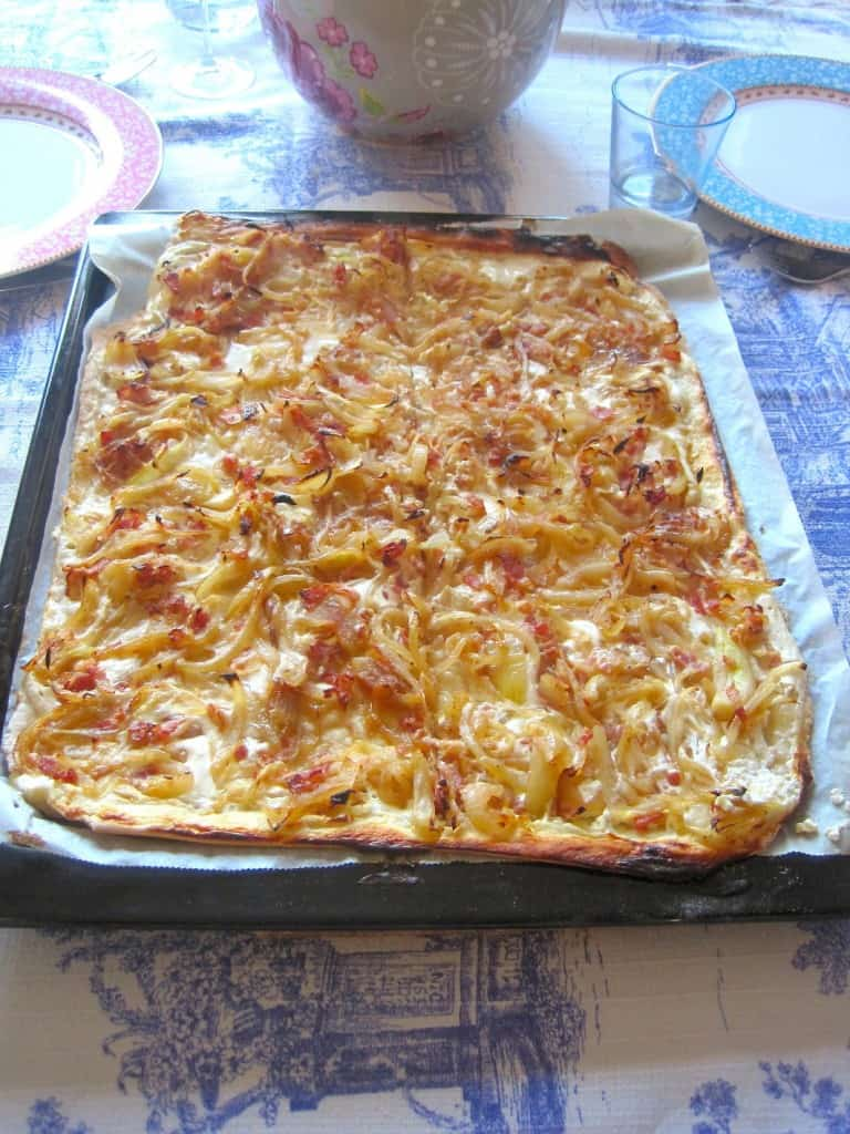 Diner with Friends Flammkuchen