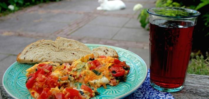 Lunch Time #2 Gezonde omelet.