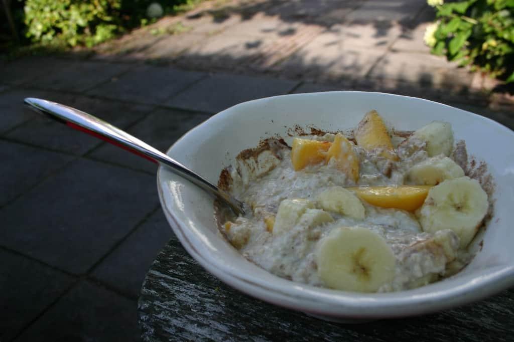 ontbijt overnight oats