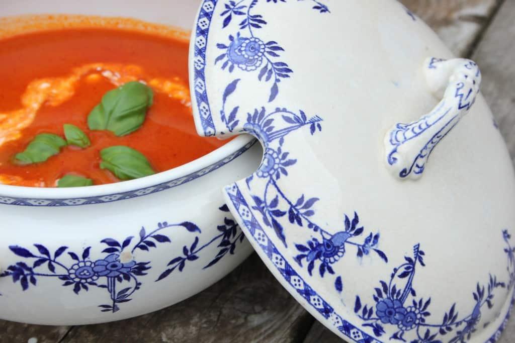 tomatensoep jamie met room