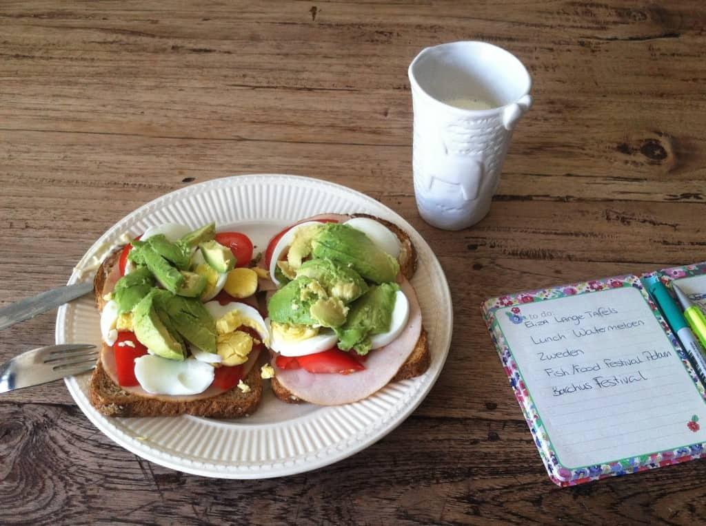 week 35 lunch avocado