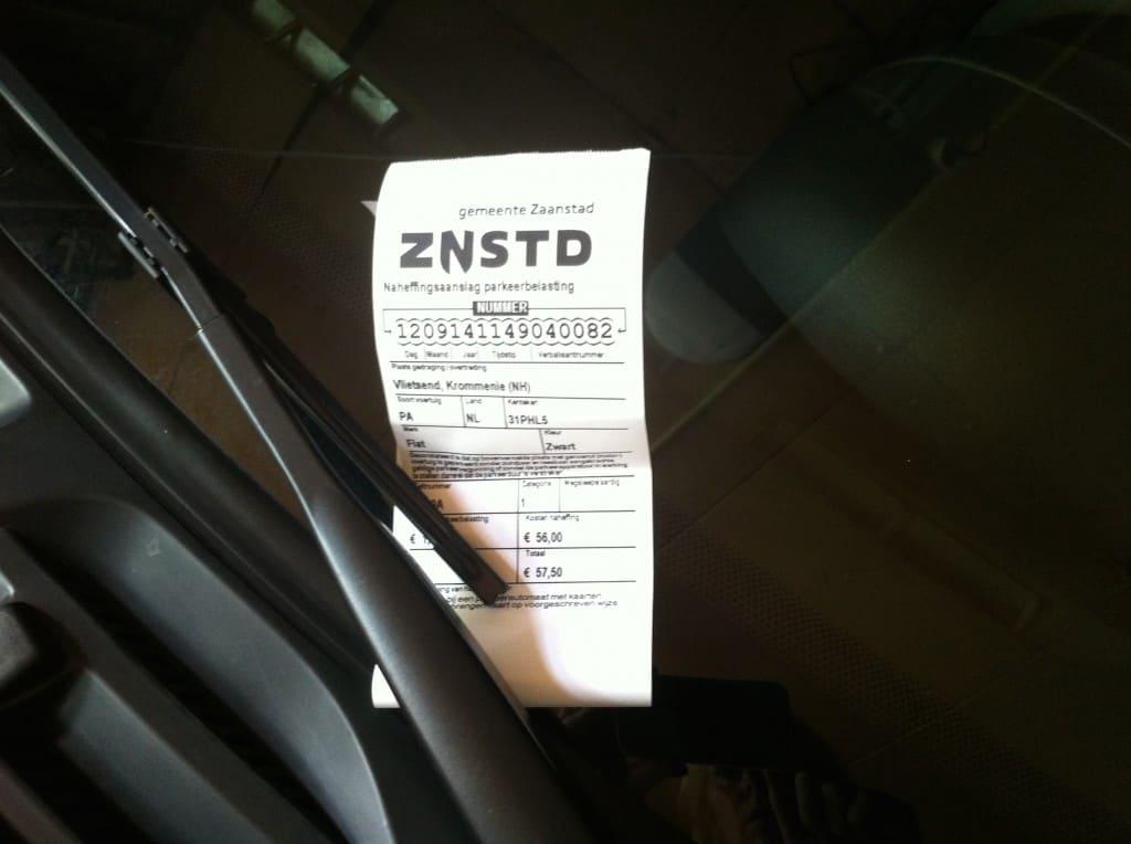week 37 parkeerbon auto