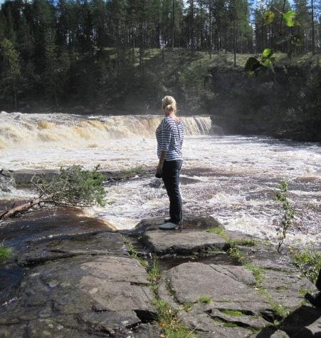 zweden waterval