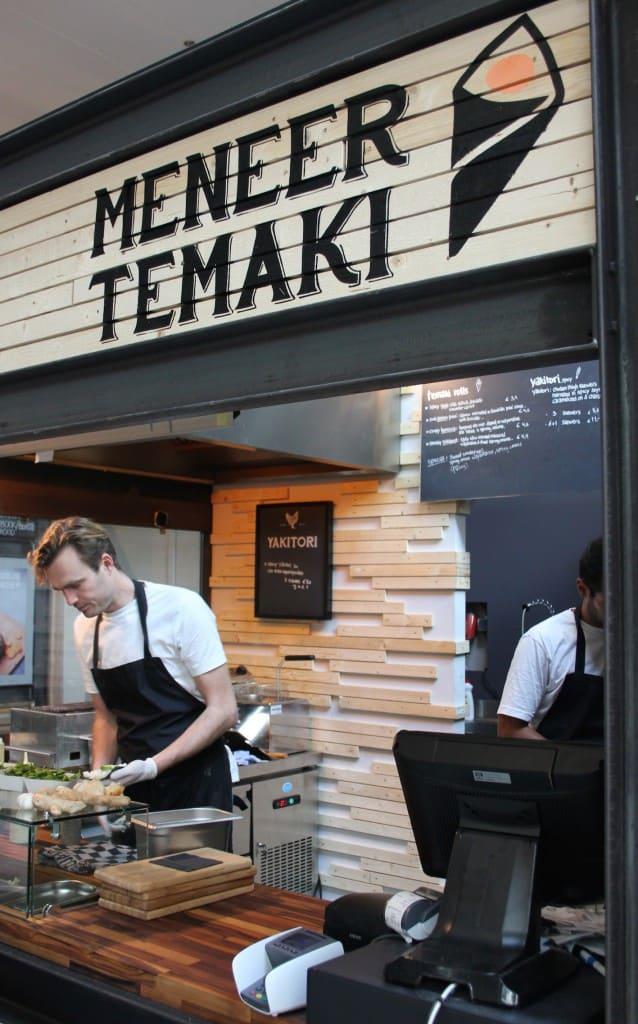 De Foodhallen Amsterdam Meneer Temaki