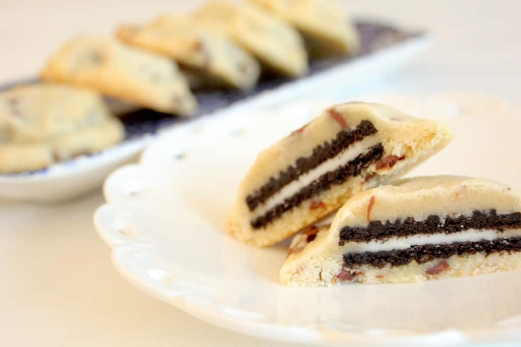 Oreo chocolate chip cookies header