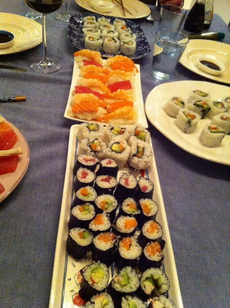 week 48 sushi fun