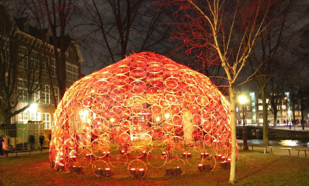 Amsterdam Light Festival bij hortus rood