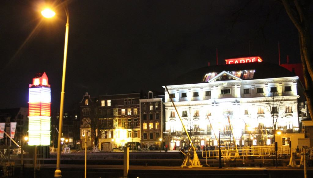 Amsterdam Light Festival carré
