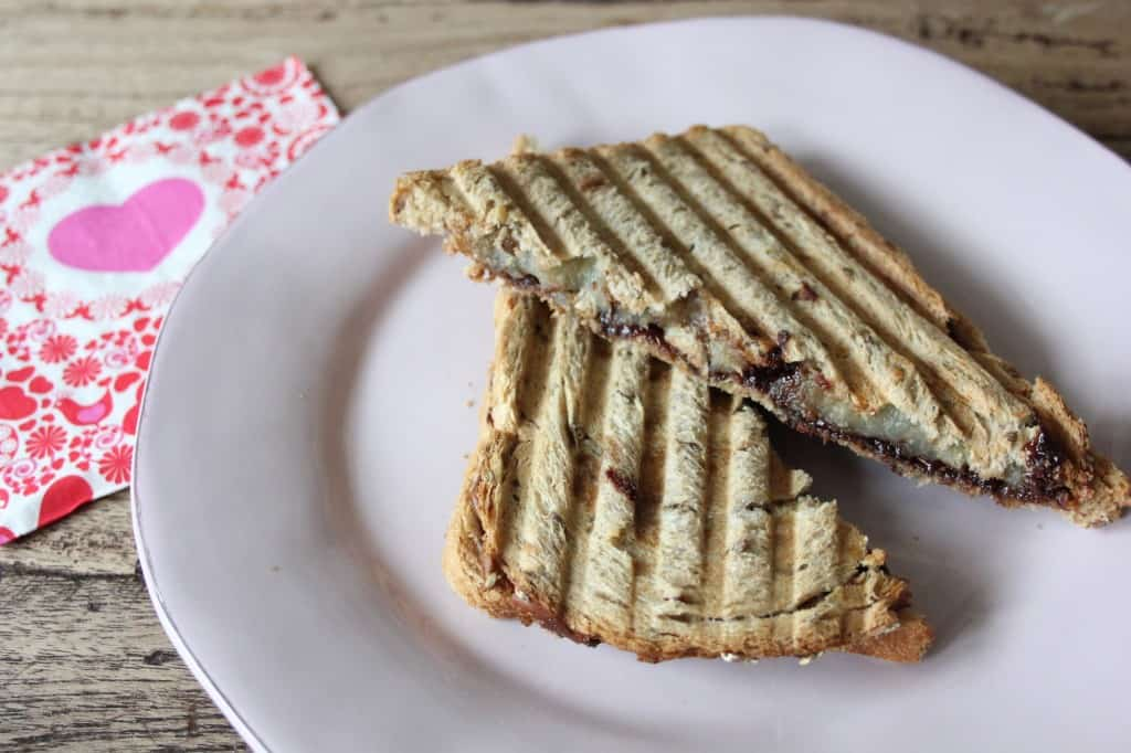 LUNCHTIME #Nutella/Banaan tosti