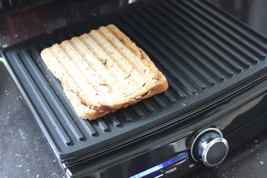 lunch time bananen tosti grill
