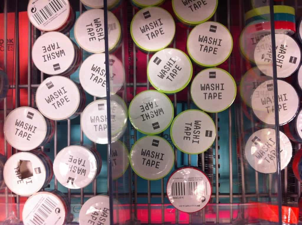 week 2 washi tape