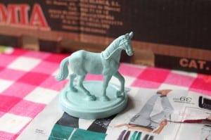 DIY dierpotjes paardje