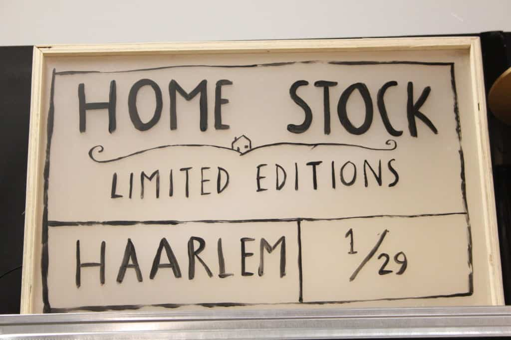 haarlem shopping home stock logo