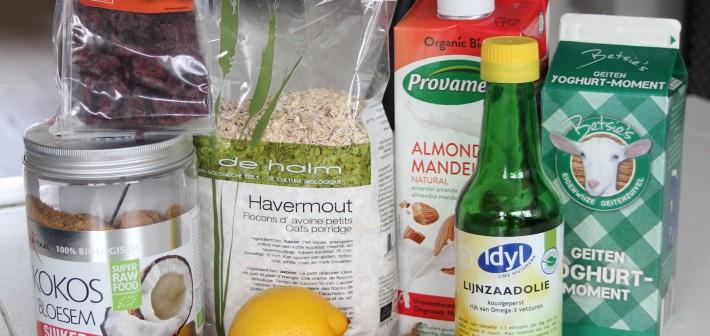 7 ingrediënten voor een gezond ontbijt