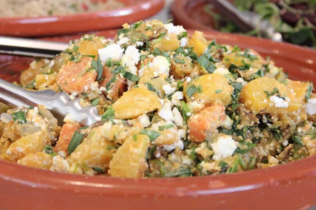 Buffet van Odette salade