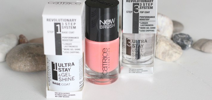 CATRICE ULTRA STAY & GEL SHINE 3 STEP NAIL SYSTEM