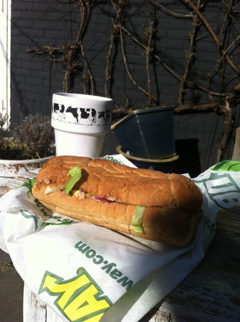 week 11 broodje in de zon