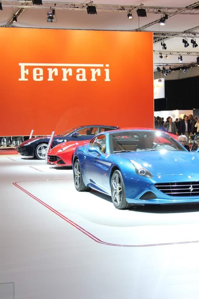 Autorai Ferrari stand