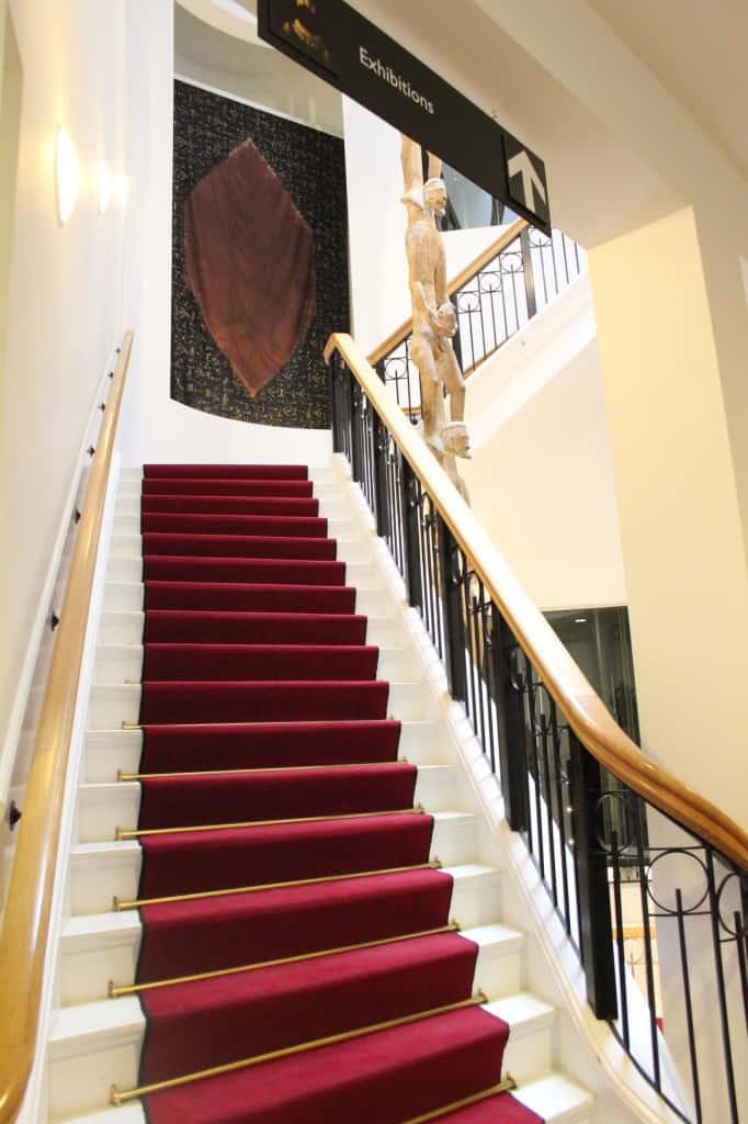 wereldmuseum trappen