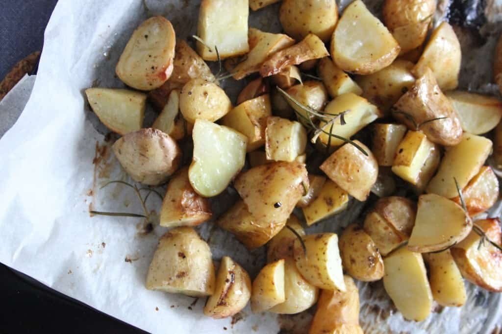 Rozemarijn aardappeltjes uit de oven | ENJOY! The Good Life
