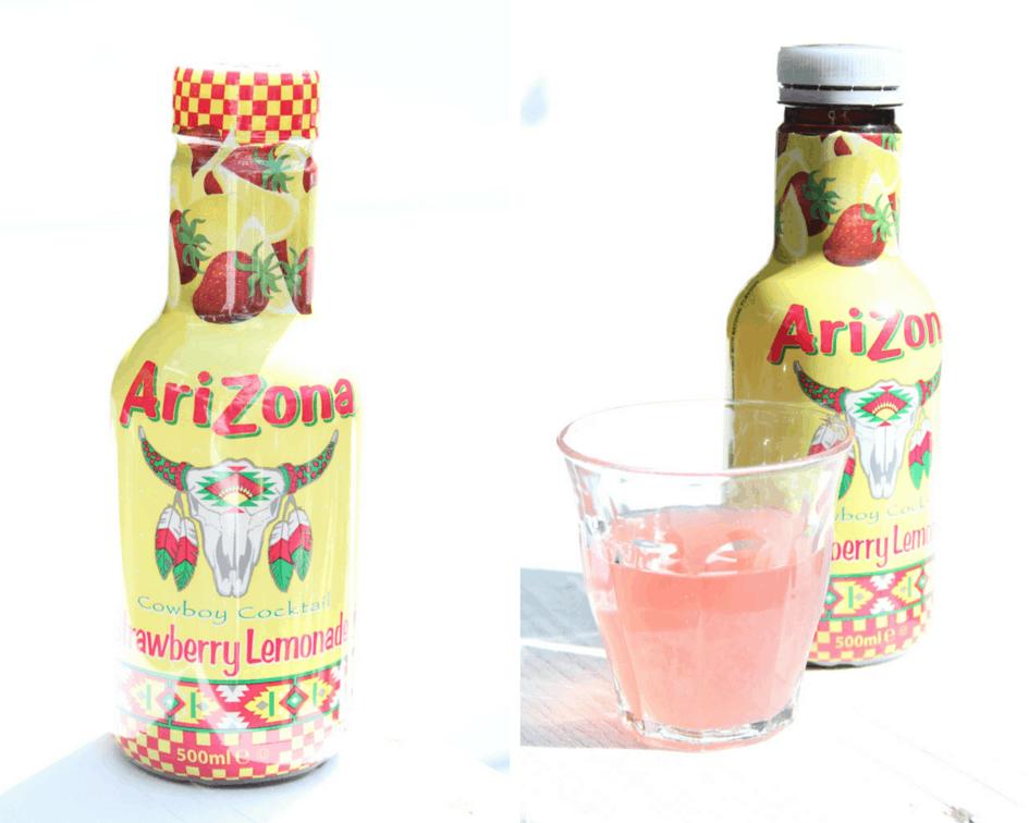 Arizona Strawberry Lemonade duo