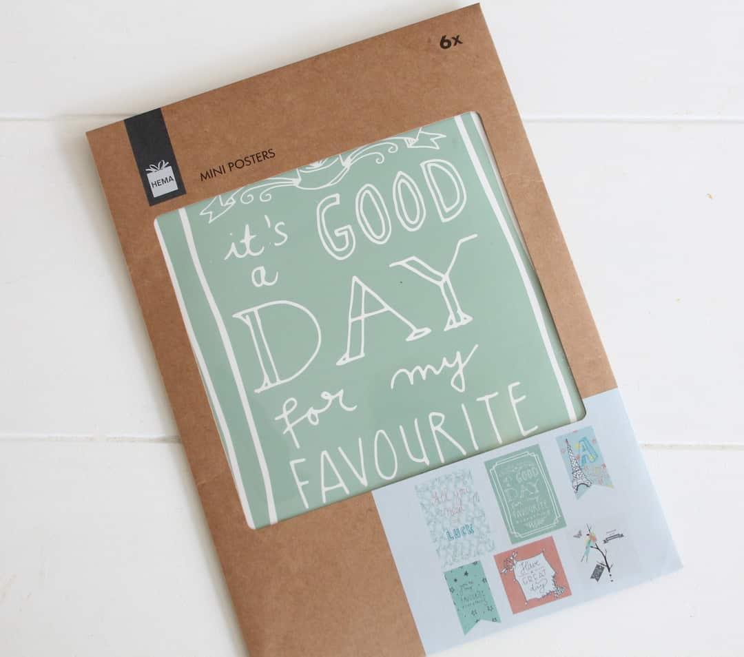 beste deals voor geweldige selectie te koop Kleur je dag met de mini posters van de HEMA - ENJOY! The ...