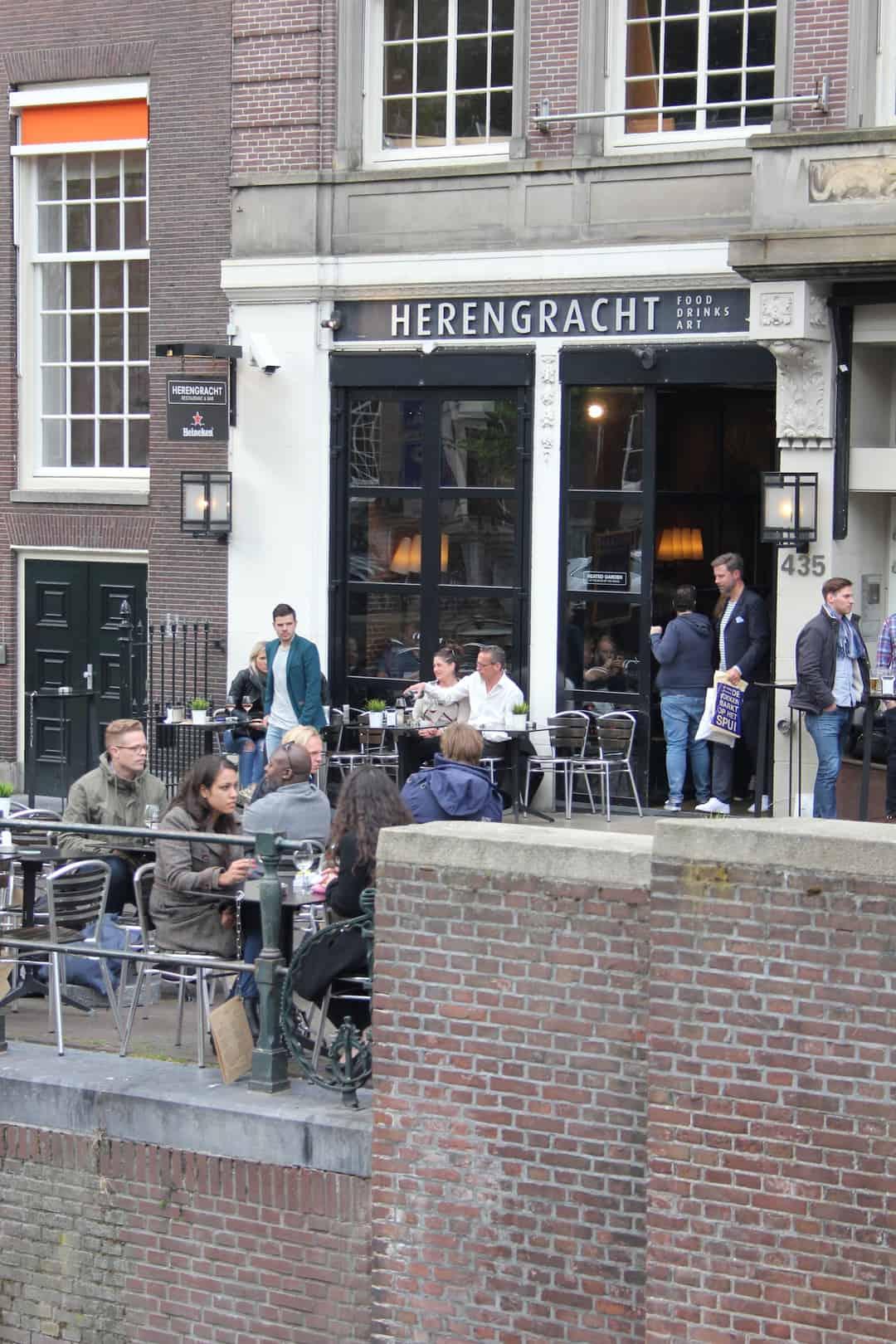 Restaurant bar herengracht amsterdam enjoy the good life for Herengracht amsterdam