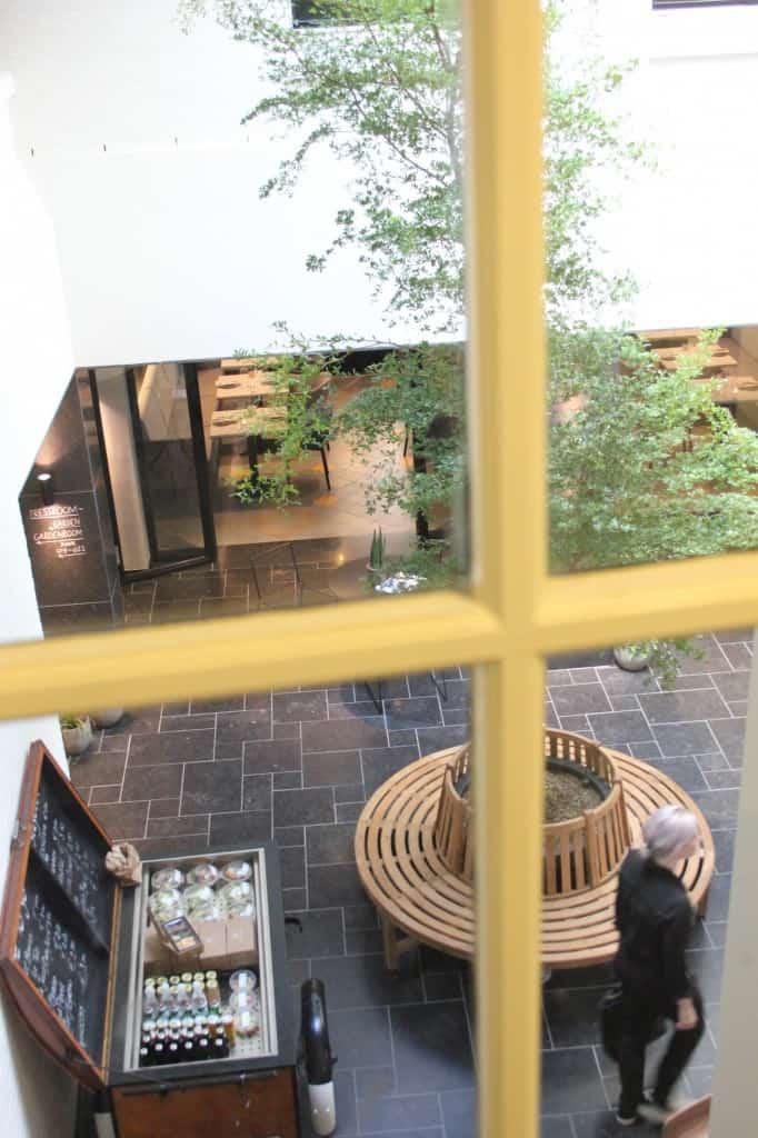 INK binnenplaats lobby