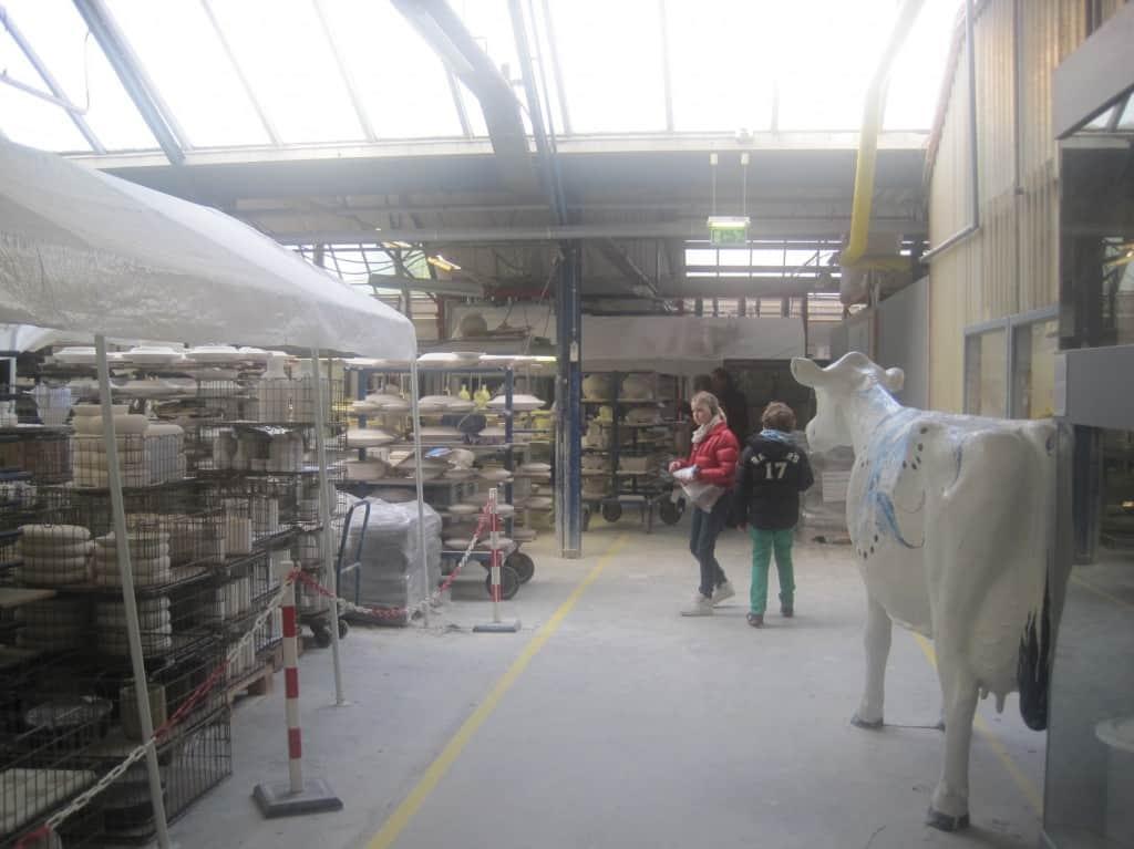Royal Delft fabriek