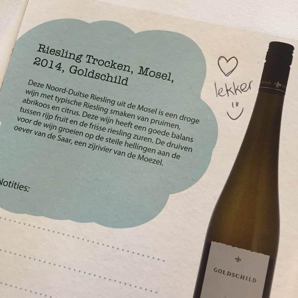 week 19 wijnproeverij