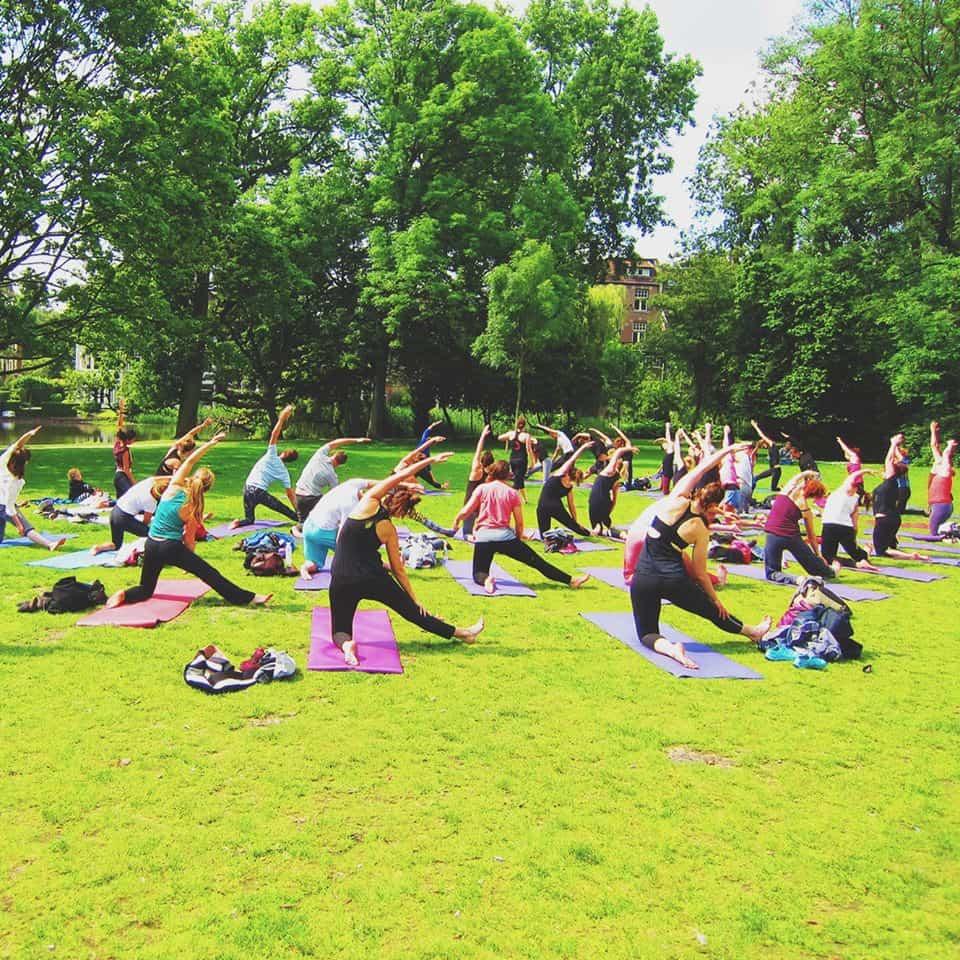 yoga vondelpark