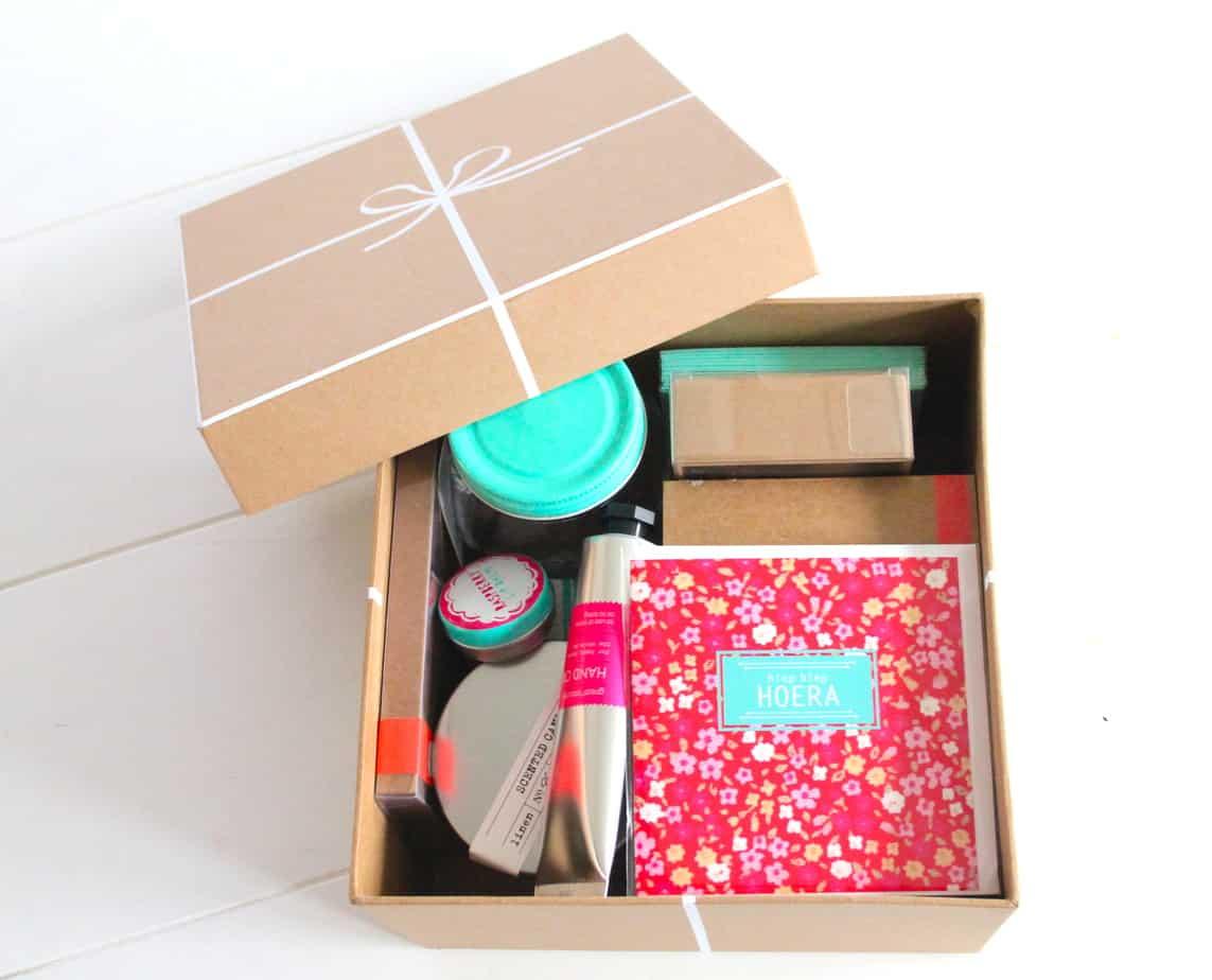 Surprise hema blijmakers enjoy the good life for Een doosje vol geluk waar te koop