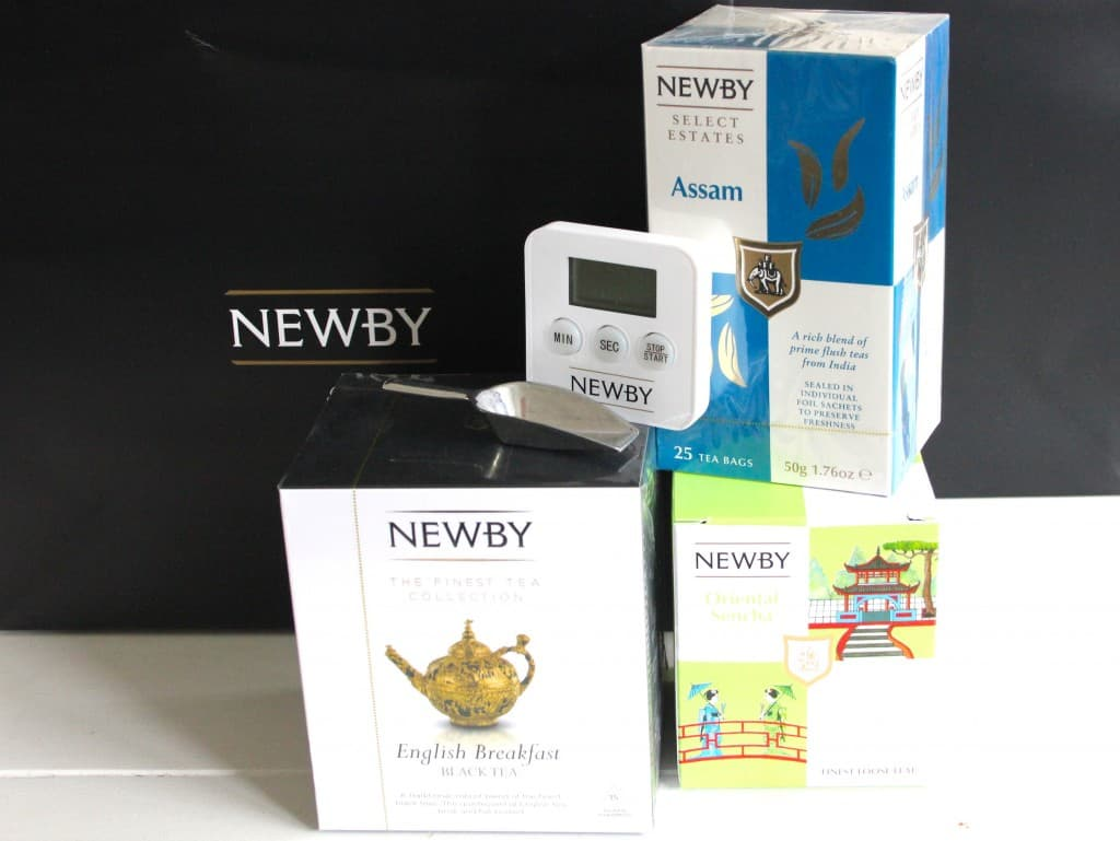 NEWBY TEAS + WINACTIE!   ENJOY! The Good Life