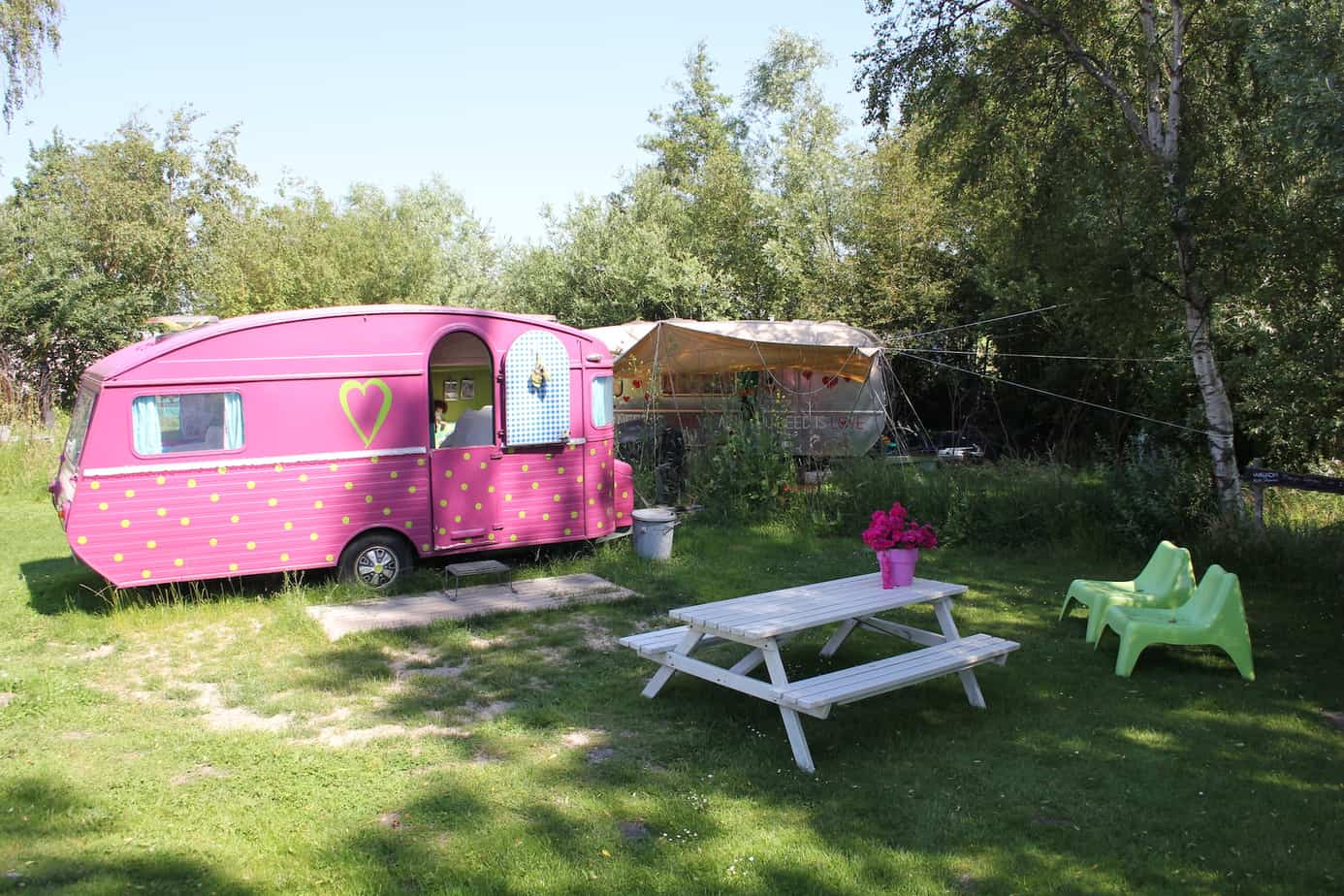 Eiland de woude camping 3 akers enjoy the good life - Caravan ingericht ...