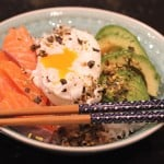SASHIMI BOWL ZALM EN AVOCADO | ENJOY! The Good Life