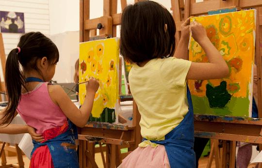 van gogh schilderen kids