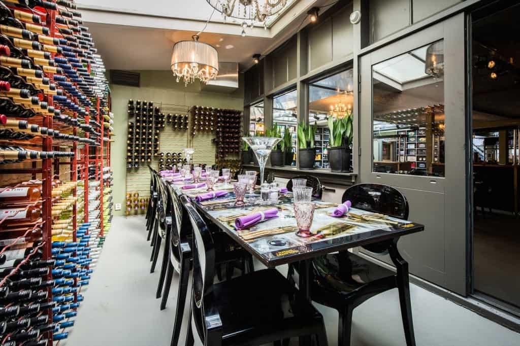 AMSTERDAM - Restaurant Lieve. FOTO: DIEDERIK VAN DER LAAN