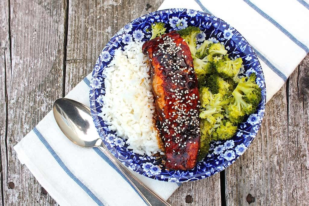 TERIYAKI ZALM met broccoli | ENJOY! The Good Life