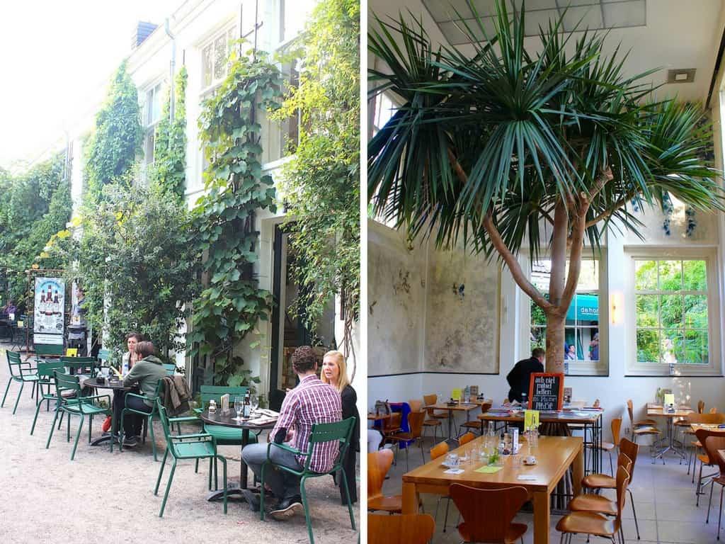 hortus loqlander duo cafe