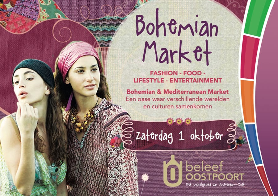 wt Bohemian-Market-Winkelcentrum-Oostpoort-Amsterdam