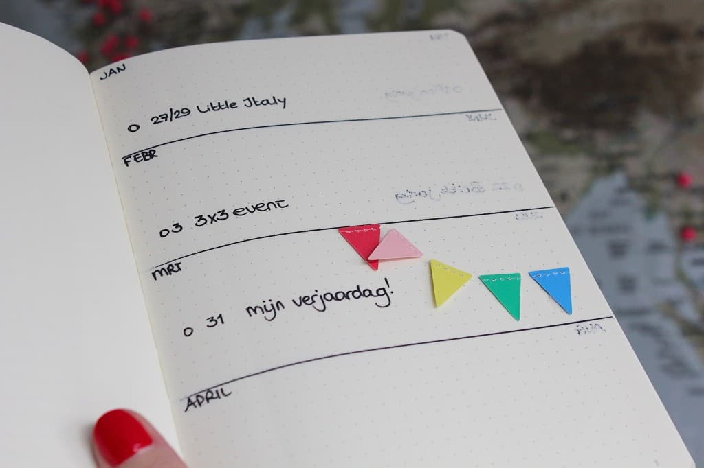 Een BULLET JOURNAL beginnen | ENJOY! The Good Life