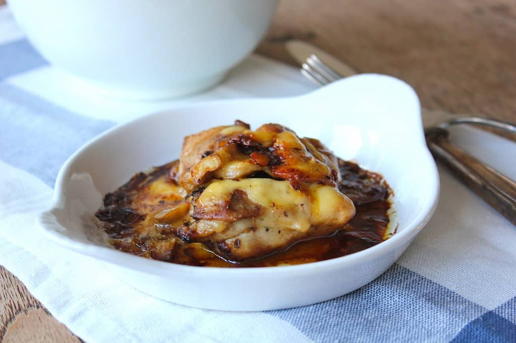 CITROENKIP met kaas en champignons | ENJOY! The Good Life
