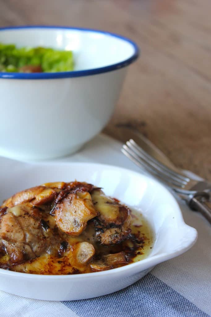 CITROENKIP met kaas en champignons | ENJOY! The Good Life