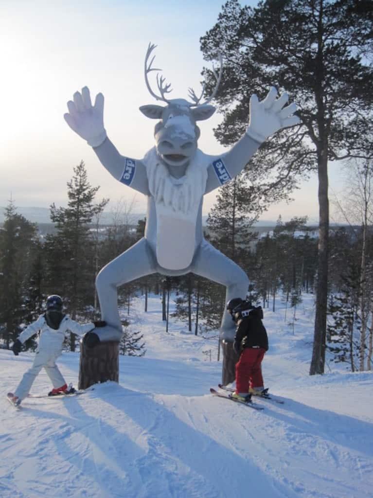 zweden ski kids