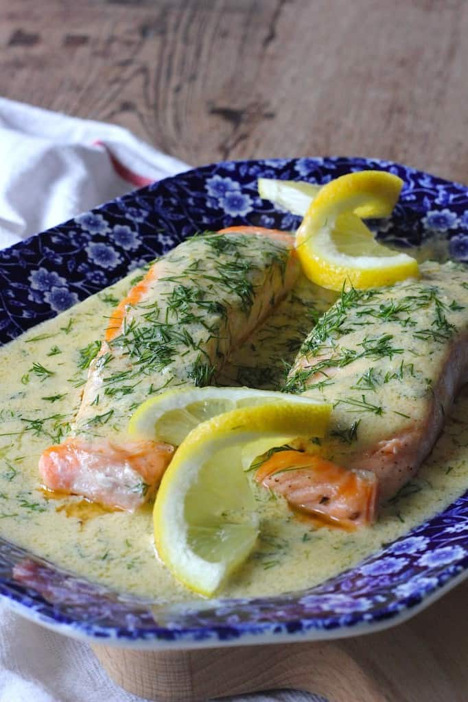 ZALM MET CITROEN, DILLE SAUS | ENJOY! The Good Life