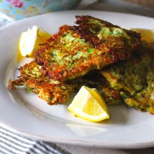 NIGELLA'S COURGETTE FRITTERS
