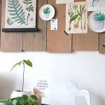 DIY: Botanisch wandbord | ENJOY! The Good Life